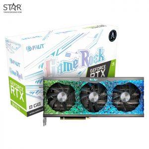 VGA Palit RTX 3070Ti 8G GDDR6X GameRock ARGB Triple Fan